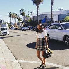 Deconstructing The #OOTD Pose #refinery29  http://www.refinery29.com/instagram-ootd-fashion-blogger-poses#slide-6  The Casually-Crossing-The-Street ShotWhy did the chicken cross the road? To get the most effortless-looking OOTD photo, obviously....