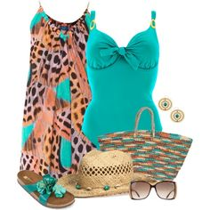 """""""Beach Wear"""" by daiscat on Polyvore"""