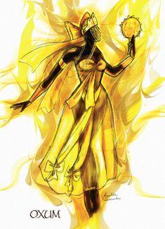 Minha mae Oxum, mae da vida, mae da prosperidade.