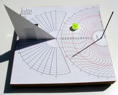 self aligning sundial azimuth hour angle
