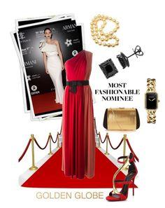 """Rooney Mara"" by kari-c ❤ liked on Polyvore featuring мода, Lanvin, Giuseppe Zanotti, Nina Ricci, Chanel, Mikimoto и GoldenGlobes"