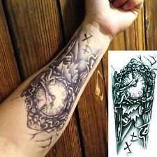 1PC Hot Temporary Large Tattoo Arm Body Art Removable Waterproof Tattoo Sticker