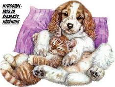 Minden napi jó kivánság - tajcsi.qwqw.hu Glitter Graphics, Animation, Training Your Dog, Cute Photos, Funny Cute, Animals And Pets, Cute Dogs, Humor, Fictional Characters
