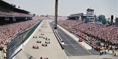 """Indianapolis Motor Speedway. Home of """"The Greatest Spectacle in Racing"""". God Bless you Tom Carnegie."""