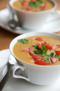 White bean and carrot soup