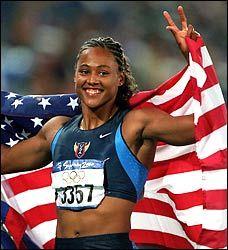 # 4 - Marion Jones, USA