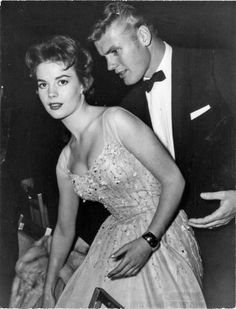 Natalie Wood and Tab Hunter
