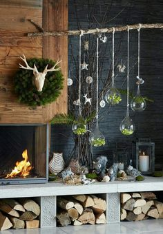 DIY design interior.  concrete. floor. Wall. Painting. Xmas. Halloween day. Kitchen--From goole