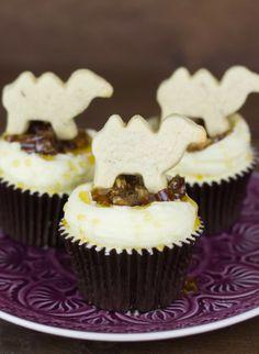 Cupcakes de dátiles y miel para los 100kms del Sáhara - Objetivo: Cupcake Perfecto.