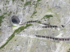 Hang Eisriesenwelt ở Austria