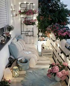 Examples of Small Balcony Decoration, balconies furnitures, we have prepared great ideas for those with small balconies. More than 100 examples for small balcony decoration. My balconies are very . Apartment Balcony Decorating, Apartment Living, Apartment Balconies, Apartment Porch, Small Apartment Patios, Decorating Small Apartments, Small Cozy Apartment, Cozy Apartment Decor, 2 Bedroom Apartment