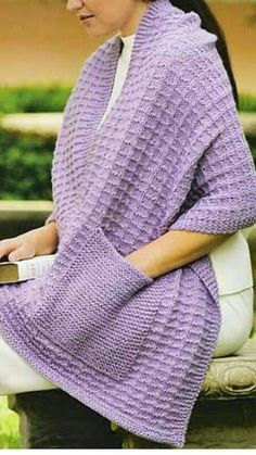 This Pin was discovered by Mar Crochet Shawl, Knitted Shawls, Crochet Stitches, Free Crochet, Knit Crochet, Crochet Cardigan, Baby Knitting Patterns, Knitting Designs, Knitting Projects