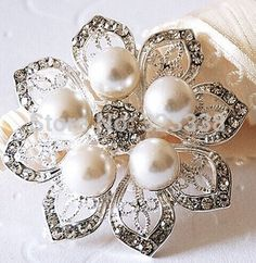 brooches for hair - Google Search
