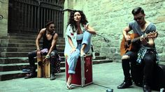 INNA - Low (Live on the street @ Barcelona) this is how music should be performed <3