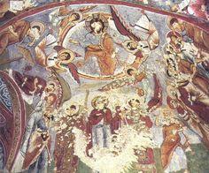 Sandals (Carikli) Church, Goreme, Cappadocia, Turkey Cappadocia Turkey, Christian Art, The Rock, Vintage World Maps, National Parks, Spaces, Sandals, Board, Interior