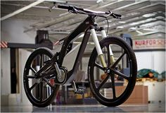 Audi e-bike, a performance electric bike for sports and trick cycling