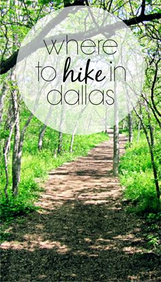 Check out all the places to hike in Dallas.