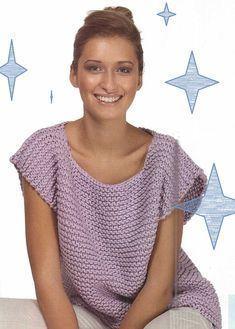 modèles de vêtements grandes tailles au tricot et au crochet
