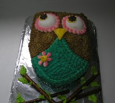 owl party for my daughter...pretty happy with the result!
