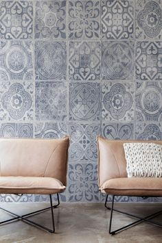 Fotobehang / Photo Wallpaper / Digital Print collection Denim - BN Wallcoverings