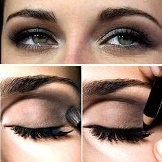 cmo aplicar maquillaje para ojos pequeos belleza
