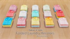 Folded Laundry Recolors at Pixelsimdreams • Sims 4 Updates