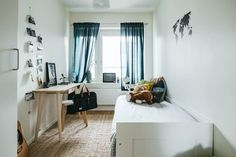 Scandi style study and guest bedroom