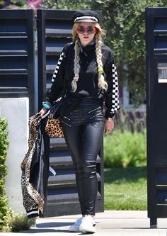 Bella Thorne seen at Nice Airport