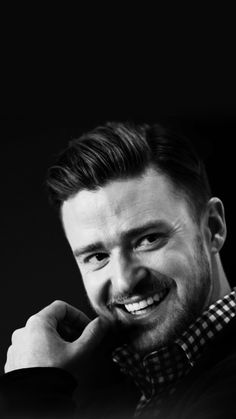 Stylish Justin Timberlake iPhone 5 / SE Wallpaper
