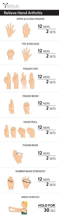 Relieve Hand Arthritis and massage therapy workout for hands