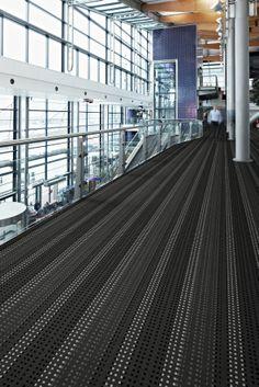 Flotex Vision Terminal Flooring can be purchased at Hopkins Carpet One hopkinscarpetone.com