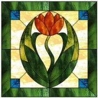 Noveau Tulip free pattern