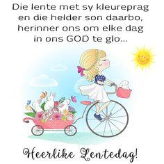 Goeie More, Afrikaans, Good Morning, Sons, Messages, Comics, Spring, Buen Dia, Bonjour