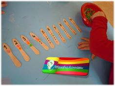 COUNTING STICKS - a great way to practice counting and fine motor skills