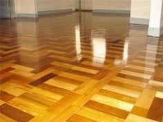 Como limpar piso de taco de madeira