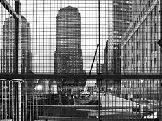 De Belgische fotograaf Koen van Damme werkt sinds 1994 als architectuurfotograaf. Deze foto is genomen in New York, Ground Zero