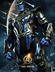 Pretty cool fan-made poster for 'Avengers: Infinity War'