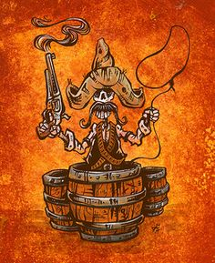Shooting Fish In A Barrel by David Lozeau