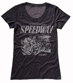 Head off to the races in this classic tee. T Shirts For Women, Tees, Cotton, Mens Tops, Collection, Fashion, Moda, T Shirts, La Mode