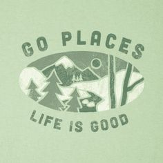 Women's Go Places Crusher Tee