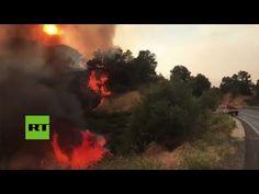 Los incendios forestales provocan evacuaciones y múltiples daños en California