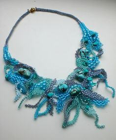 Ludmila Gubinova is beading artist from Ukraine.