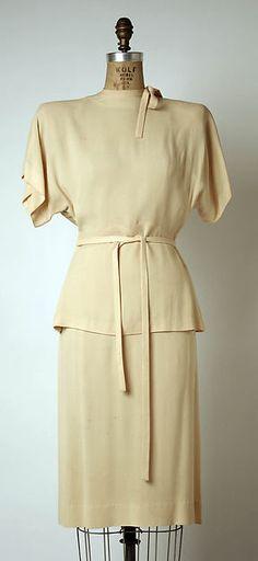 Gilbert Adrian | Suit | American | The Metropolitan Museum of Art