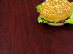 omdat ik hamburgers lekker vindt