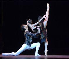 I wish I could dance like a ballerina! ...soo graceful!  (Scene from Swan Lake)