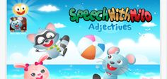 On sale to celebrate Better Speech and Hearing Month ~Speech With Milo – Adjectives By Doonan Speech Therapy ‹ AppAbled.com