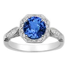 brilliant earth sapphire and diamond engagement ring