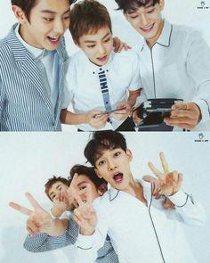 Chanyeil, Xiumin & Chen
