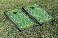 Georgia Tech Yellow Jackets Football Field Cornhole Board Set