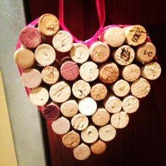 Wine Corks repurposed, Love!!!